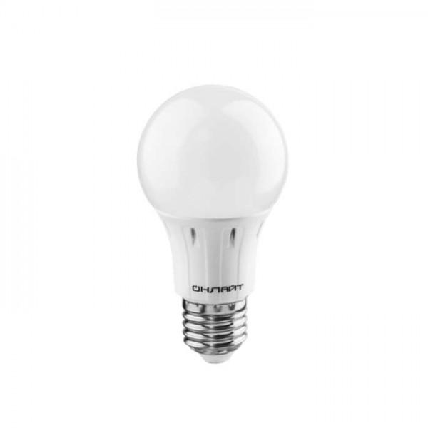 Лампа светодиодная 61 150 OLL-A60-15-230-4K-E27 грушевидная 15Вт ОНЛАЙТ 61150
