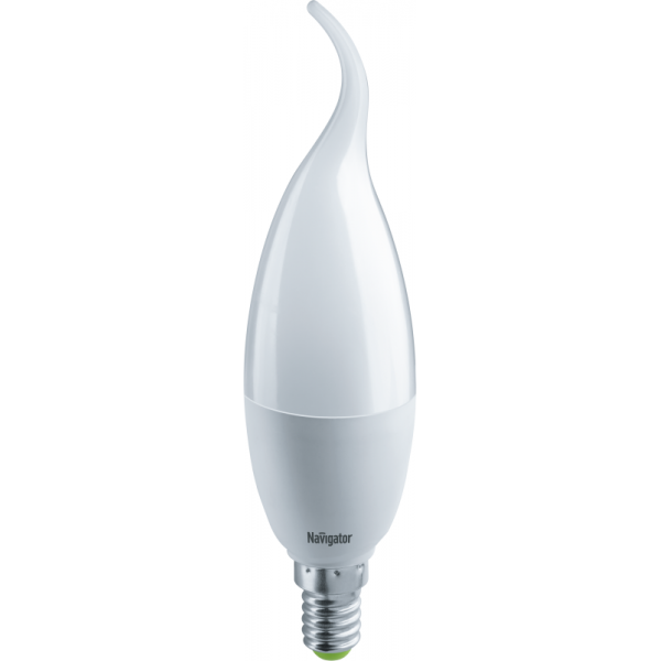 Лампа светодиодная 61 331 NLL-FC37-8.5-230-4К-E14-FR 8.5Вт свеча на ветру 4000К бел. E14 680лм 176-264В Navigator 61331