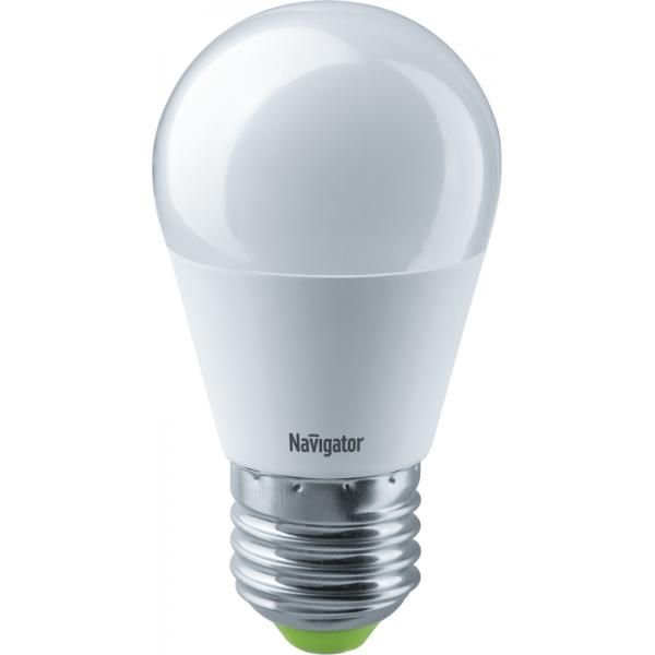 Лампа светодиодная 61 336 NLL-G45-8.5-230-2.7К-E27 Navigator 61336