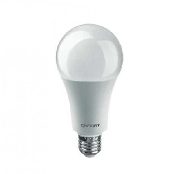 Лампа светодиодная 61 955 OLL-A60-25-230-6.5K-E27 25Вт ОНЛАЙТ 61955