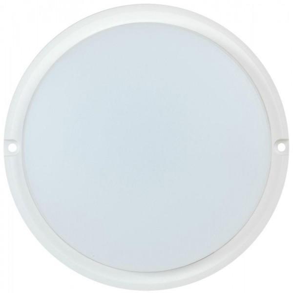Светильник светодиодный ДПО 4001 8Вт 4000К IP54 круг бел. IEK LDPO0-4001-8-4000-K01
