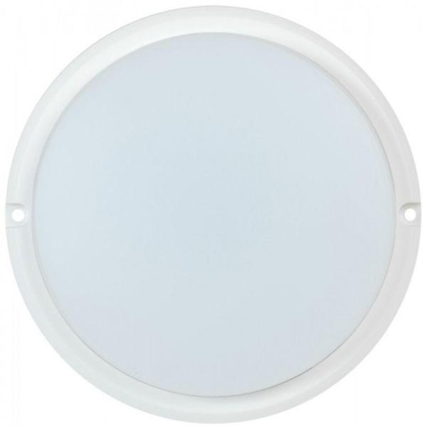Светильник светодиодный ДПО 4002 12Вт 4000К IP54 круг бел. IEK LDPO0-4002-12-4000-K01