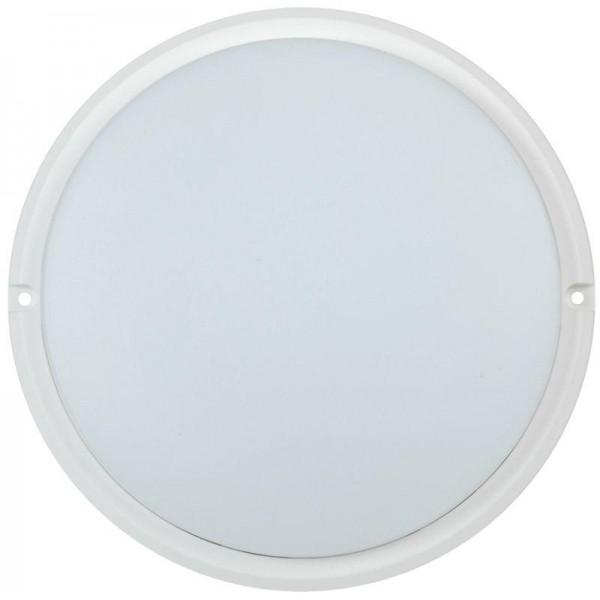Светильник светодиодный ДПО 4004 18Вт 4000К IP54 круг бел. IEK LDPO0-4004-18-4000-K01