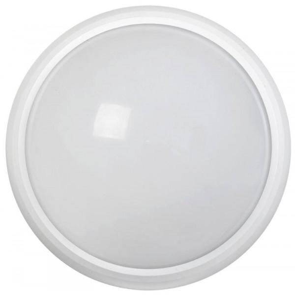 Светильник светодиодный ДПО 5032Д 12Вт 4000К IP65 круг бел. с ДД IEK LDPO1-5032D-12-4000-K01
