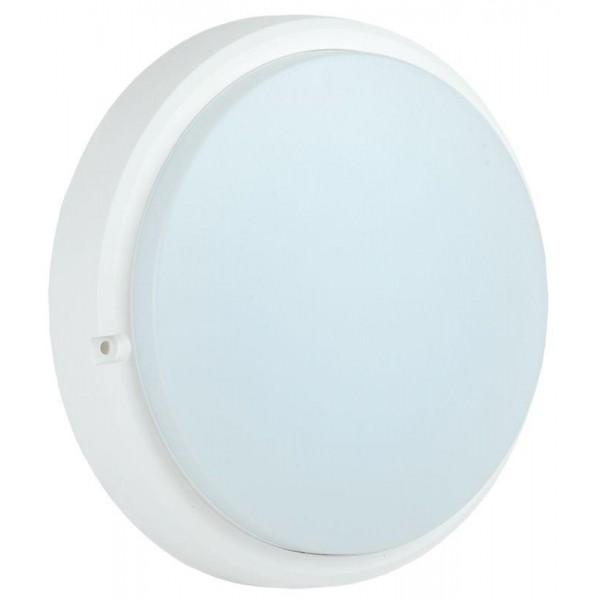 Светильник светодиодный ДПО 4006 12Вт 6500К IP54 круг бел. IEK LDPO0-4006-12-6500-K01
