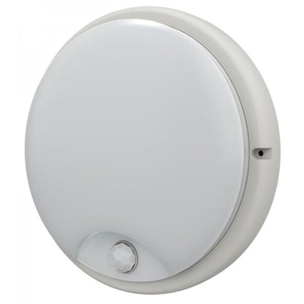 Светильник светодиодный ДПО 4100Д 12Вт 4000К IP54 круг бел. ИК ДД IEK LDPO0-4100D-12-4000-K01