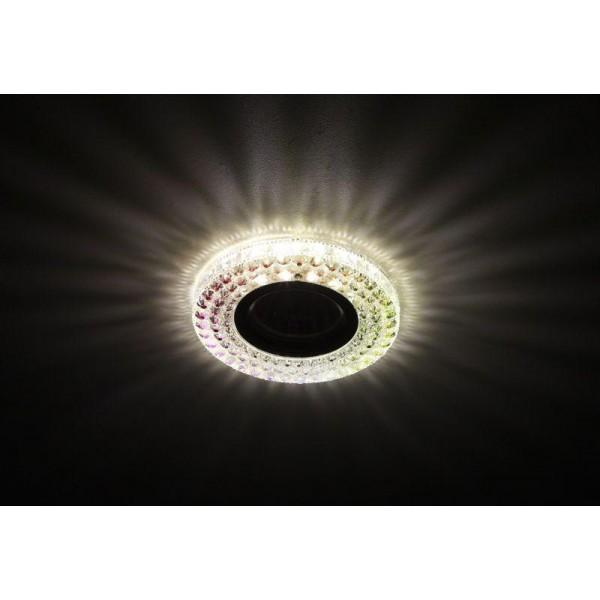 Светильник DK LD15 SL RGB/WH декор cо светодиодной подсветкой MR16 мультиколор ЭРА Б0028081