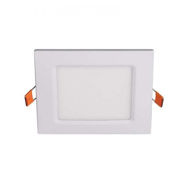 Светильник светодиодный ультратонкий встраив. PPL-S 6Вт 6500К IP40 WH 120мм квадрат Jazzway 5008243A