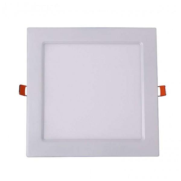 Светильник светодиодный ультратонкий встраив. PPL-S 12Вт 4000К IP40 WH 170мм квадрат Jazzway 5008342A