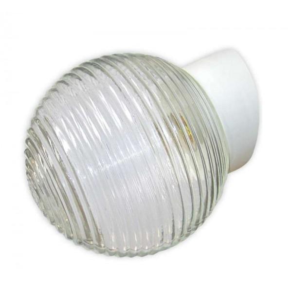 Светильник НББ 64-60-080 'Кольца' d150 1х60Вт E27 IP20 корпус наклонный бел. Элетех 1005100147