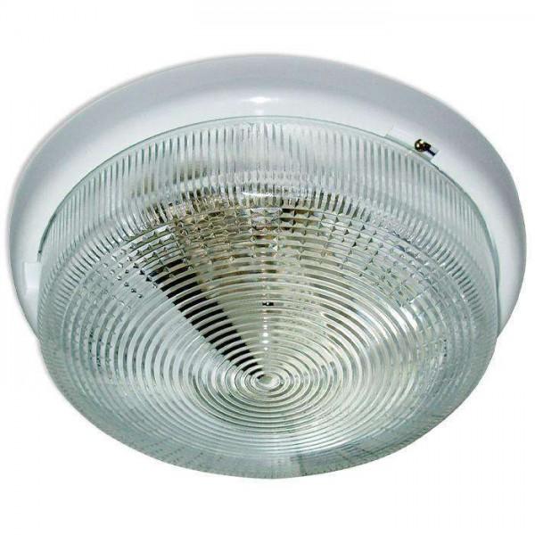 Светильник НБО 23-100-001 'Раунд' d240 1х100Вт E27 IP44 корпус бел. Элетех 1005500569