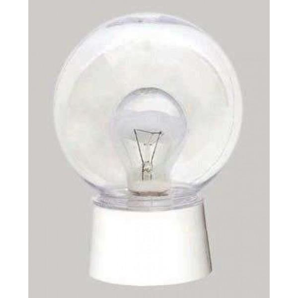 Светильник ЖКХ 04 1х60Вт E27 IP20 энергосбер. с фото-акуст. датчик мат. Аргос 155.60.2.20-2.5.1