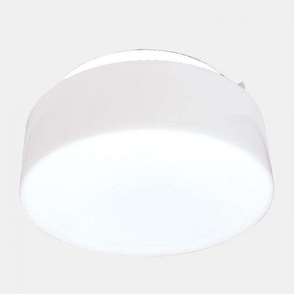 Светильник НПО 22-2х60-210 'Таблетка' d260 2х60Вт E27 IP20 опал Элетех 1005150220