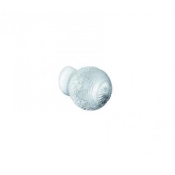 Светильник НББ 64-60-080 'Цветочек' d150 1х60Вт E27 IP20 корпус прямой бел. Элетех 1005100155