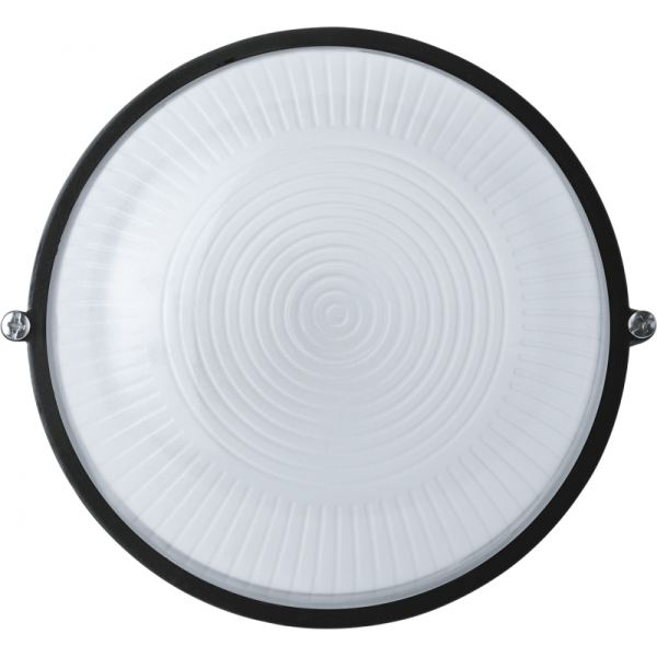 Светильник ЛОН 94 811 NBL-R1-60-E27/BL 1х60Вт E27 IP54 (аналог НПБ 1301 черн. круг 60Вт) Navigator 94811