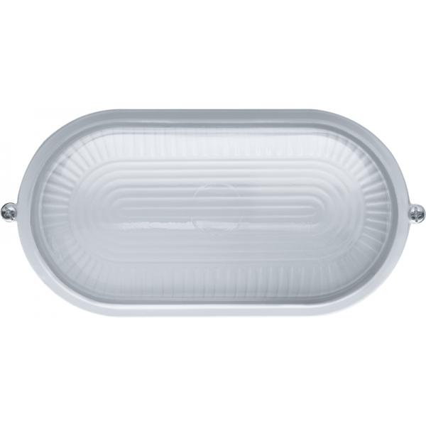 Светильник ЛОН 94 800 NBL-O1-60-E27/WH 1х60Вт E27 IP54 (аналог НПБ 1401 бел. овал 60Вт) Navigator 94800