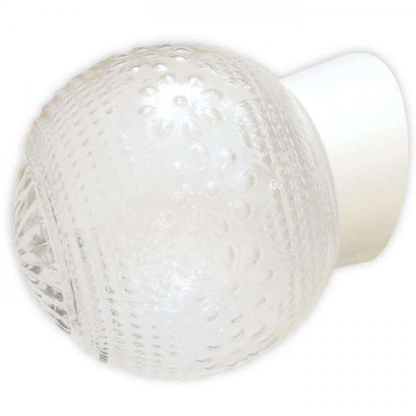 Светильник НББ 64-60-080 'Цветочек' d150 1х60Вт E27 IP20 корпус наклонный бел. Элетех 1005100149