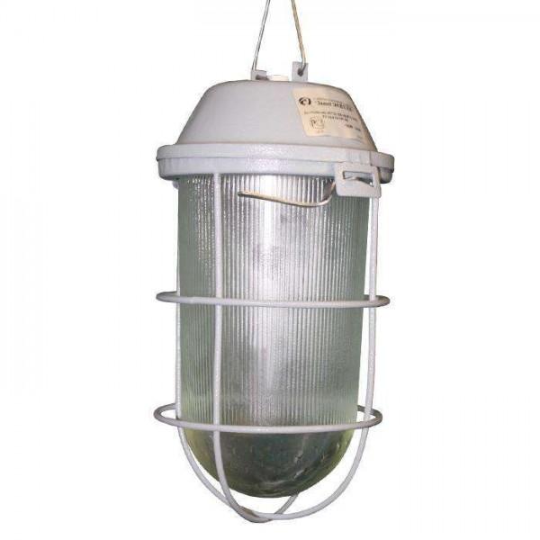 Светильник НСП 02-200-002 'Желудь А' IP52 корпус с решеткой серый Элетех 1005550281