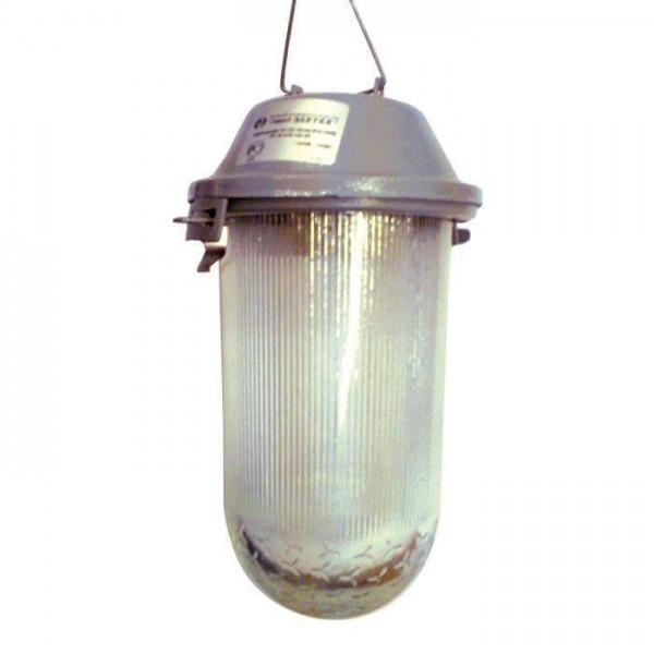 Светильник НСП 02-200-001 'Желудь А' IP52 корпус серый Элетех 1005550280