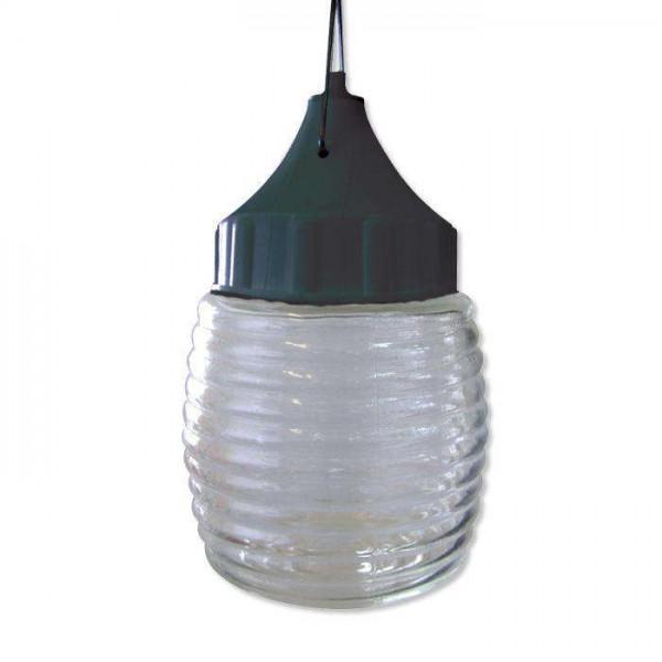 Светильник НСП 03-60-001 'Бочонок' d120 IP53 корпус пластик черный Элетех 1005550238