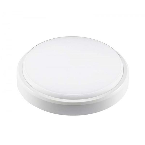 Светильник светодиодный PBH-PC2-RA 12Вт 4000К IP65 (аналог НПП) круглый бел. JazzWay 1035660