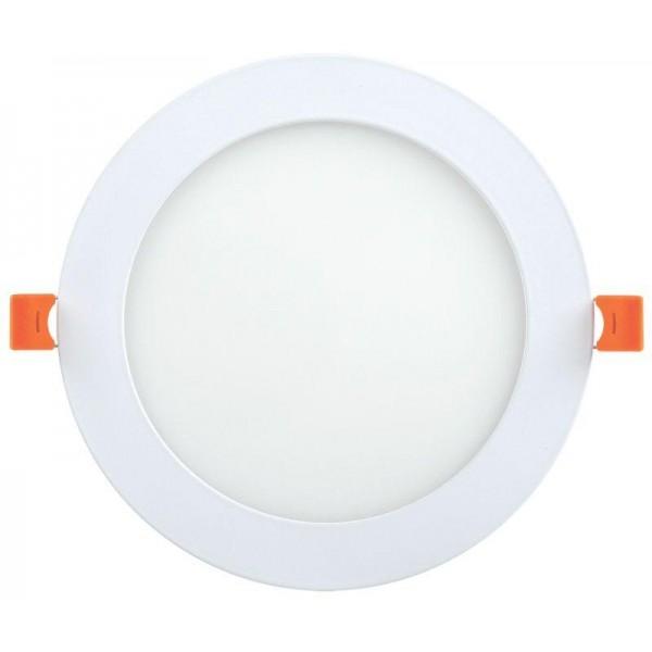 Светильник светодиодный ДВО 1605 12Вт 4000К IP20 круг бел. IEK LDVO0-1605-1-12-K02