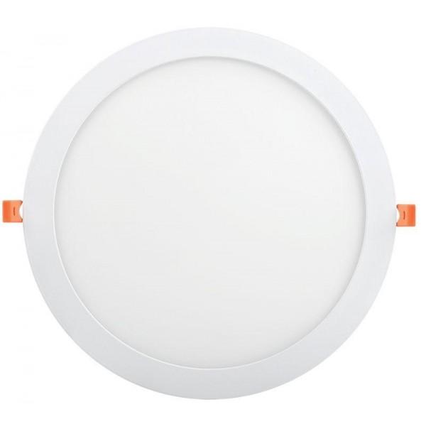 Светильник светодиодный ДВО 1610 24Вт 6500К IP20 круг бел. IEK LDVO0-1610-1-24-6500-K01