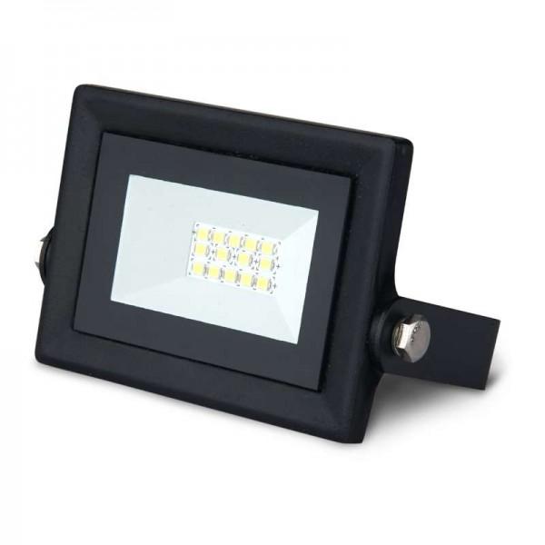 Прожектор светодиодный Elementary Led Qplus 10Вт IP65 6500К черн. Gauss 613511310