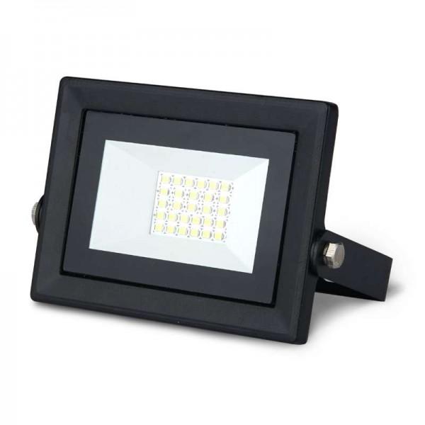 Прожектор светодиодный Elementary Led Qplus 20Вт IP65 6500К черн. Gauss 613511320
