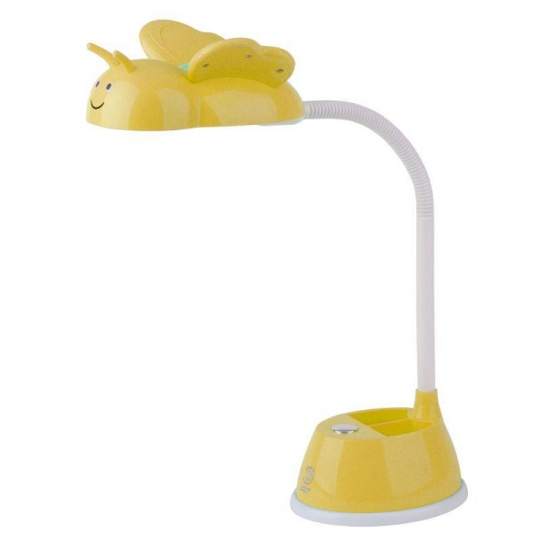 Светильник NLED-434-6W-Y настол. желт. ЭРА Б0031618