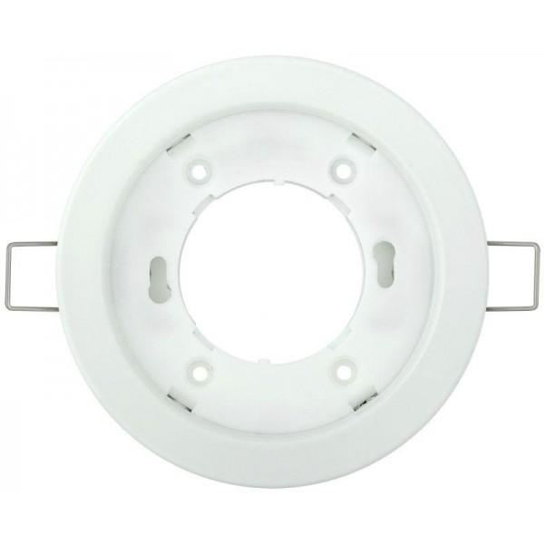 Светильник встраиваемый под лампу GX53 бел. IEK LUVB0-GX53-1-K01