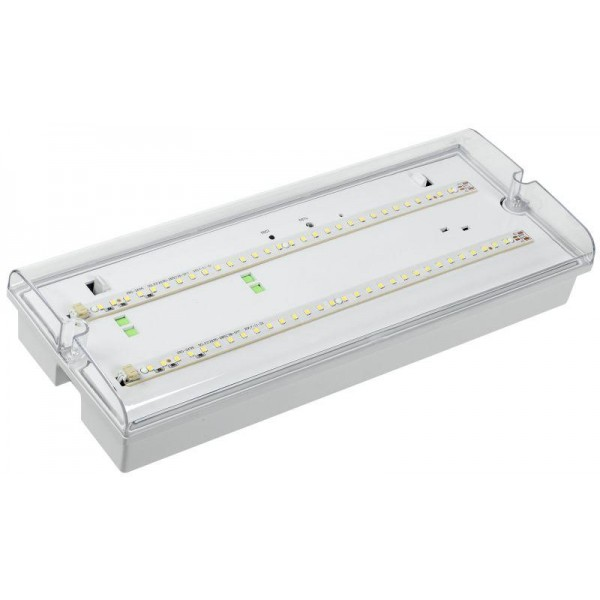 Светильник ДПА 5042-1 аккумулятор 1ч IP65 аварийный универс. подкл. IEK LDPA0-5042-1-65-K01
