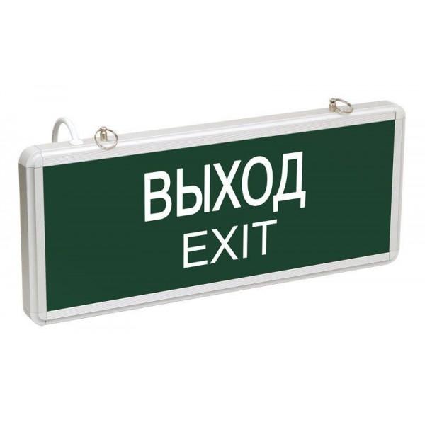 Светильник светодиодный ССА 1001 'ВЫХОД-EXIT' одностор. 3Вт IEK LSSA0-1001-003-K03