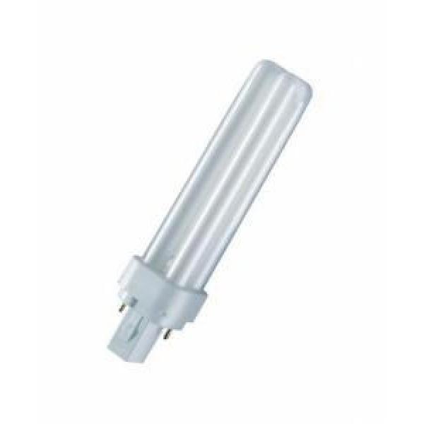 Лампа люминесцентная компакт. DULUX D 26W/840 G24d-3 OSRAM 4050300012049