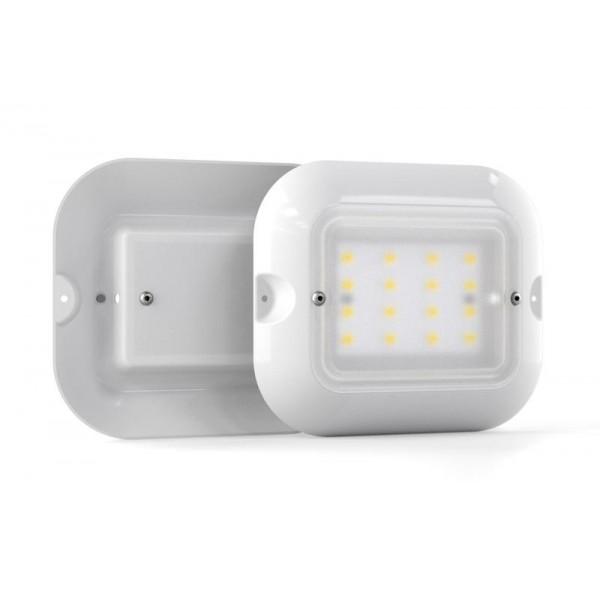 Светильник светодиодный АТ-ДБП-01-09 'Medusa' 9Вт 1100лм 5000К IP20 для ЖКХ Атон АТДБП0109